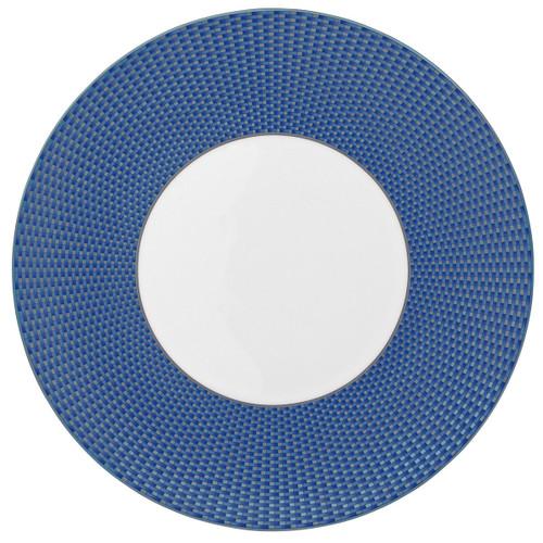 Raynaud Tresor N°1 Round Blue American Dinner Plate Motive