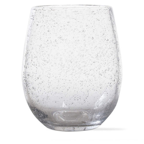 Tag Bubble Stemless Wine Glass