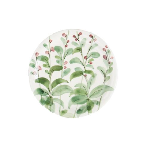 Vietri Erbe Sage Salad Plate