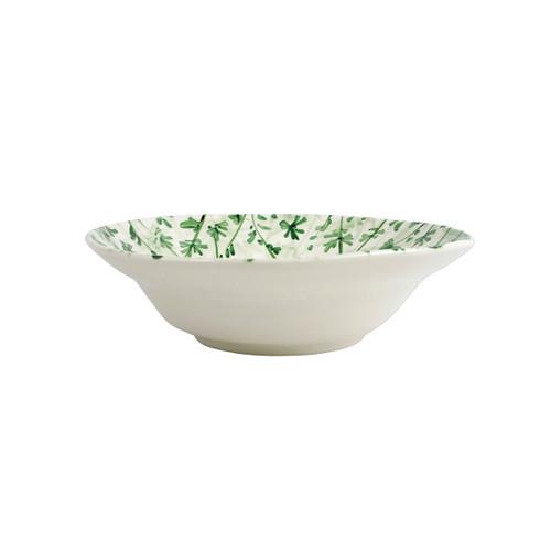 Vietri Erbe Parsley Shallow Serving Bowl