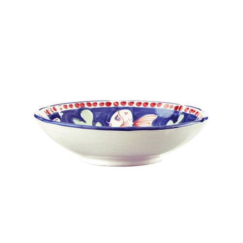 Vietri Campagna Pesce Coupe Pasta Bowl