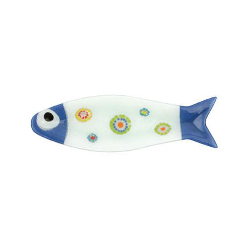 Vietri Pesci Colorati Cobalt Medium Fish Tray