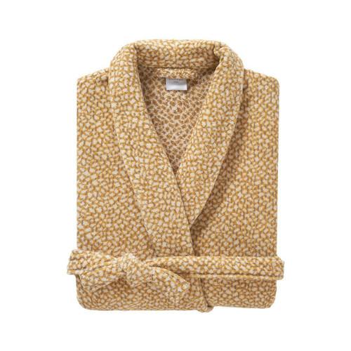 Yves Delorme Ecrit De Loin Women's Shawl Collar Bathrobe