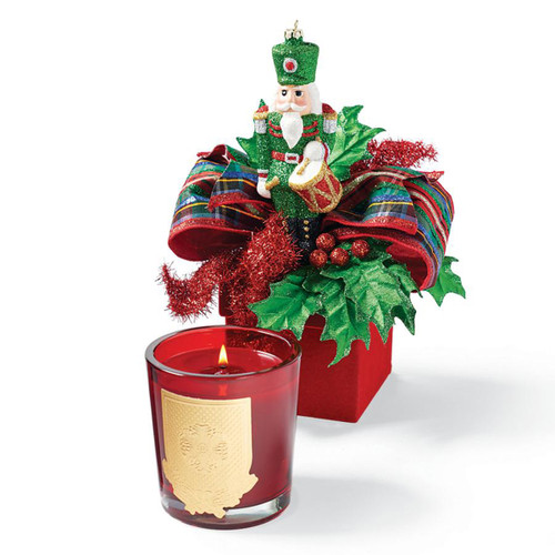 LUX Fragrances Holiday Candle- Decorative Gift Box