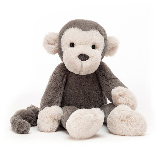 "Jellycat Brodie Monkey - Medium 14"""