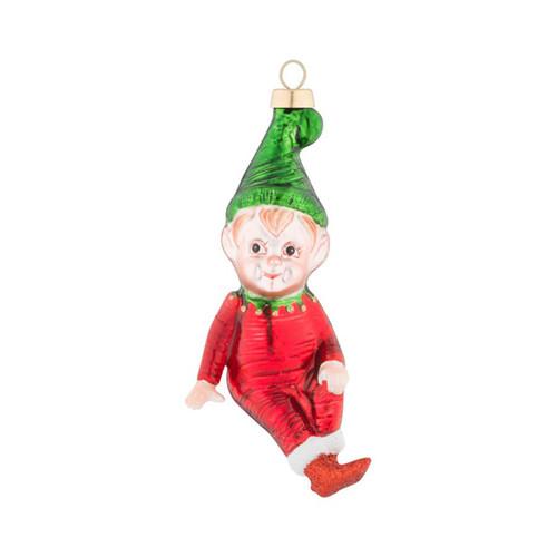 Kat + Annie Classic Little Elf Ornaments