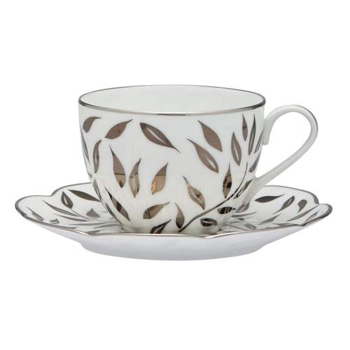 Royal Limoges Olivier Platinum Tea Cup