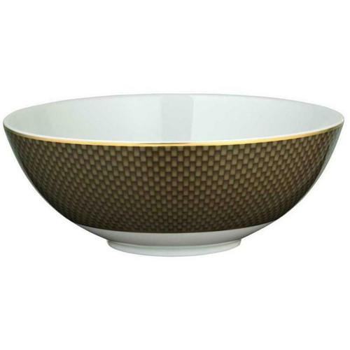 Raynaud Tresor Brown - Salad Bowl Small motive n°2 Ø 6.6929 in.