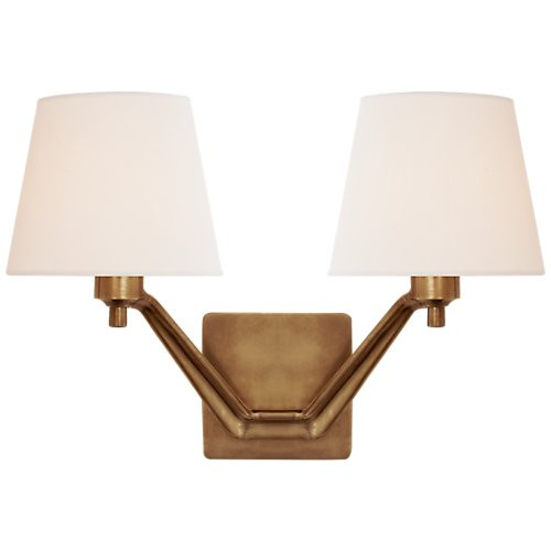 Aerin Union Double Arm Sconce