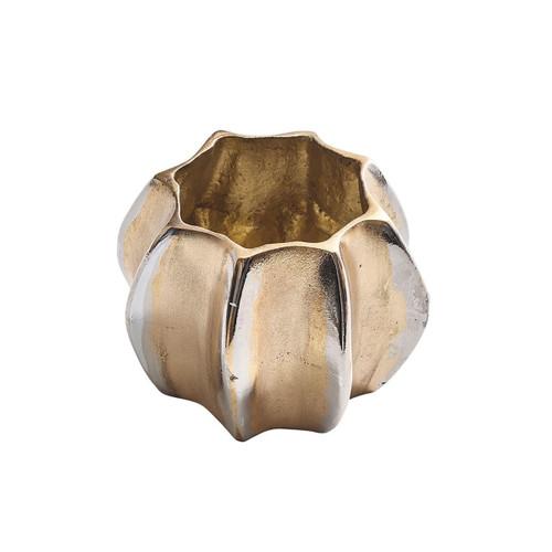 Kim Seybert Desert Gold/Silver Napkin Ring