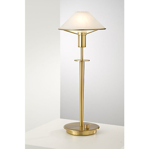 Holtkoetter Aging Eye Table Lamp in Antique Brass #6514