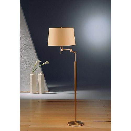 Holtkoetter Adjustable Shaded Floor Lamp #2541
