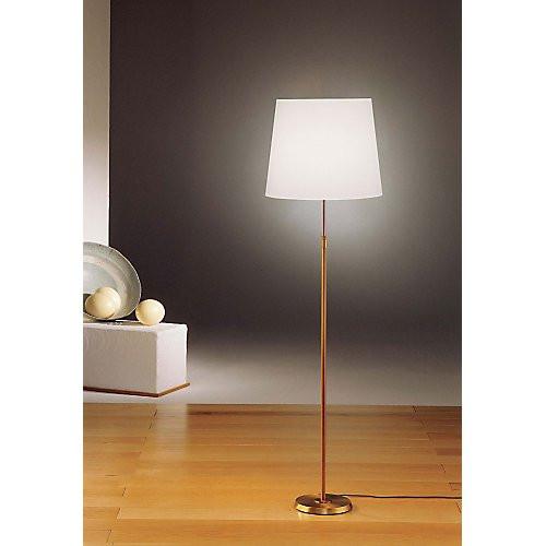 Holtkoetter Dimmable Floor Lamp in Antique Brass #6354
