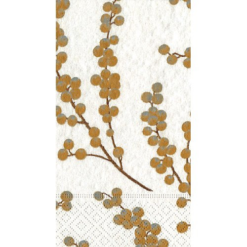 Caspari Berry Branches Guest Towel Napkins