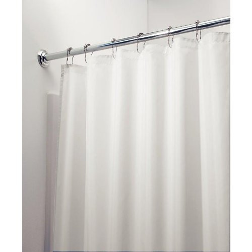 """Shower Curtain Liner, Poly Long 72"""" x 72"""""""