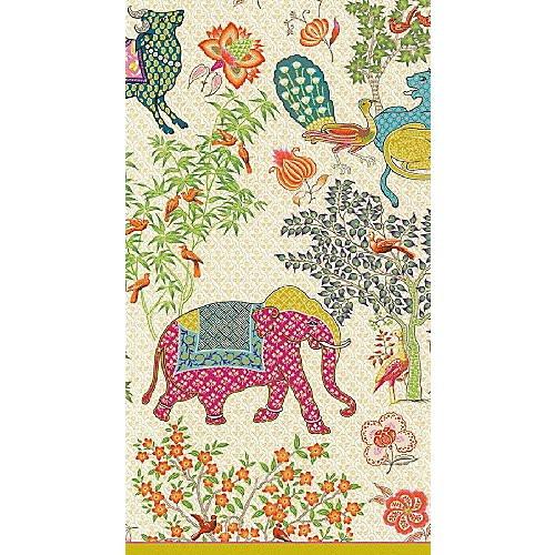 Caspari Le Jardin De Mysore Guest Towel