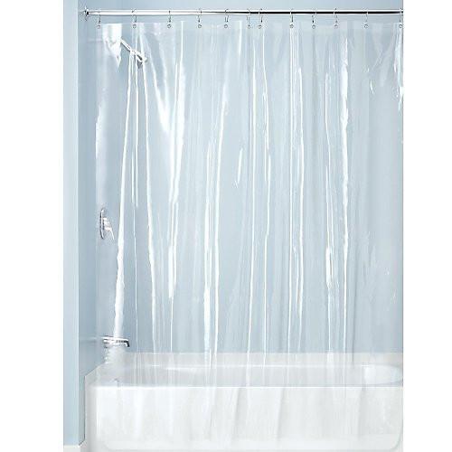 Clear Vinyl Shower Curtain Liner