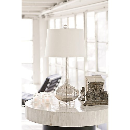 Regina Andrew Milano Antique Mercury Glass Lamp