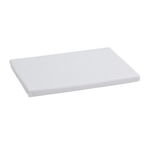 Gracious Home Firenze White Sateen Fitted Sheet