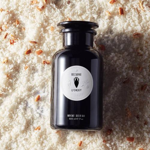 L'Objet Bois Sauvage Bath Salts (500ml)