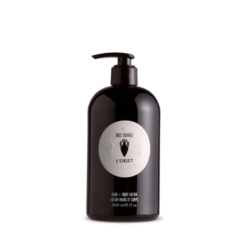 L'Objet Bois Sauvage Hand & Body Lotion (500ml)