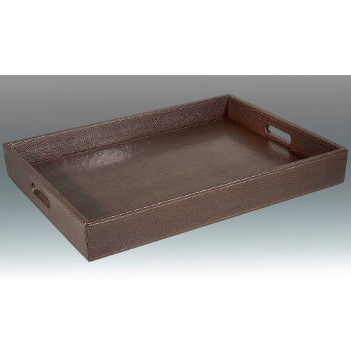 Tizo Faux Lizard Leather Tray