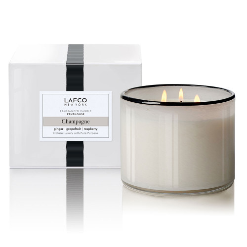 LAFCO Penthouse 3-Wick Candle - Champagne - 30oz