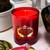 Portus Cale Noble Red Candle Red Glass