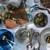 Blue Pheasant Austin Swirled Resin/Natural Teak Serving Board
