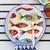 Vietri Pesci Colorati Salad Plate