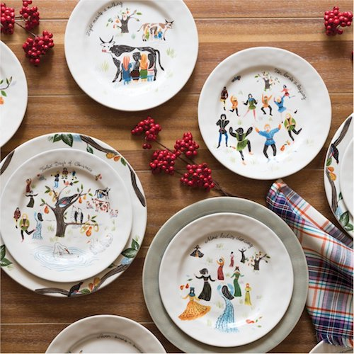 Juliska Berry & Thread North Pole 10 Serving Bowl