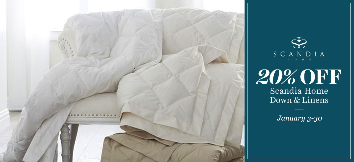 20 Off Scandia Down Home & Linen