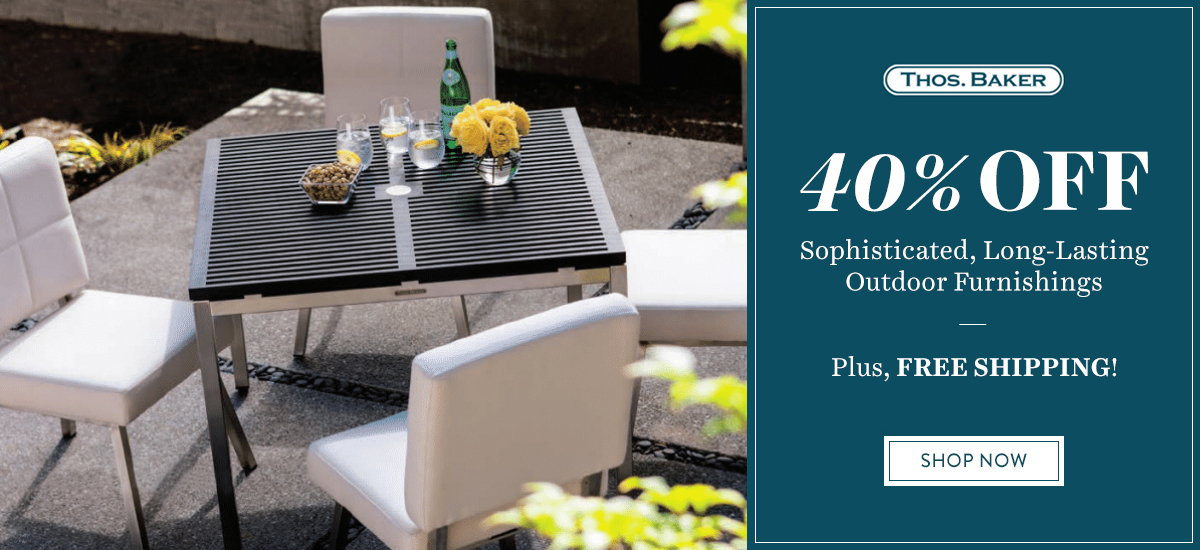40% Off Select Thos Baker Outdoor Furniture