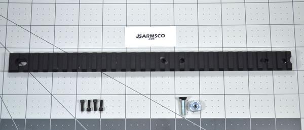 Hi Point Carbine 11.5 inch picatinny rail
