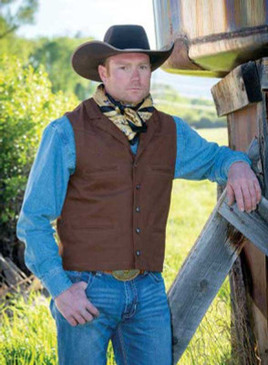 Wyoming Traders Bronco Canvas Vest Men Buy Wyoming