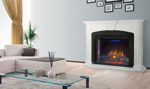 Napoleon Taylor Mantel Package with Ascent Electric 33 - NEFP33-0214W
