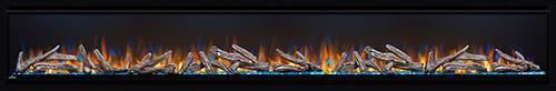 "Napoleon Alluravision 100"" Deep Electric Fireplace - NEFL100CHD"