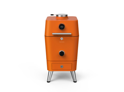Everdure 4K Charcoal Grill w/ Electronic Ignition - Orange