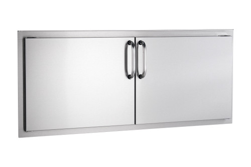 """AOG 16"""" X 39"""" Stainless Steel Double Access Doors"""