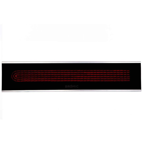 Bromic Platinum 3400W Electric Heater - Black