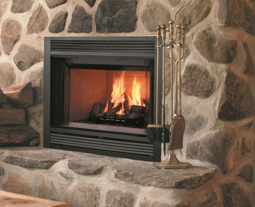 """Majestic Sovereign 42"""" Wood Fireplace"""