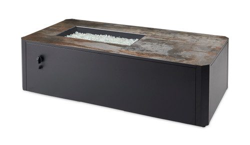 Outdoor Great Room Kinney Linear Gas Fire Pit Table