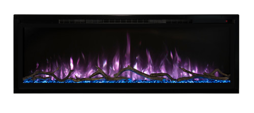 """Modern Flames 50"""" Spectrum Slim-Line Wall Hanging Electric Fireplace"""