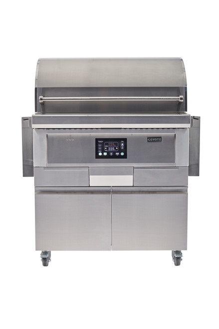 """Coyote 36"""" Pellet Grill and Cart"""