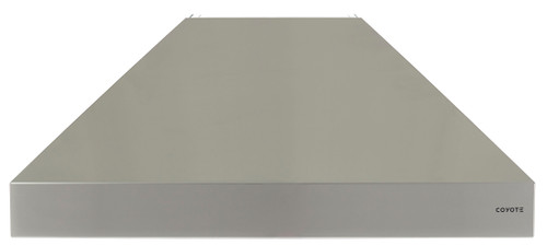 """Coyote 36"""" W x 30"""" D Chimney Hood - MUST PURCHASE BLOWER SEPARATELY"""