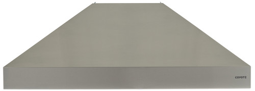 """Coyote 42"""" W x 30"""" D Chimney Hood - MUST PURCHASE BLOWER SEPARATELY"""