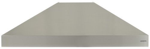 """Coyote 48"""" W x 30"""" D Chimney Hood - MUST PURCHASE BLOWER SEPARATELY"""