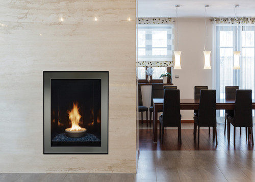 """White Mountain Hearth Canvas Portrait-Style 27"""" Contemporary Gas Fireplace"""