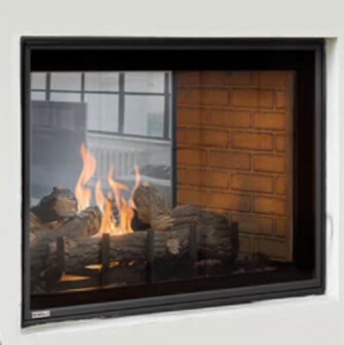 """Montigo Divine 42"""" See-Through Gas Fireplace"""