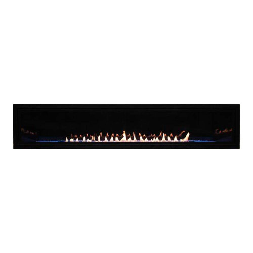 """American Hearth Boulevard Linear 60"""" Vent-Free Fireplace"""